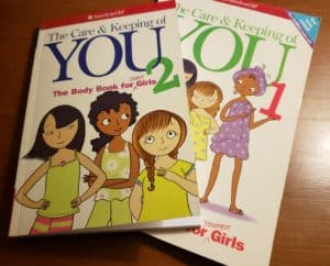 Teaching Personal Hygiene using American Girl Books.