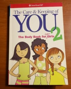 Personal Hygiene for older preteens using American Girl Books