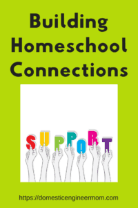 building homeschool connections