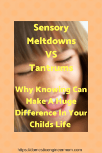SPD and Tantrums. Advice all parents need for Sensory Processing Disorders