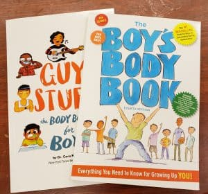 boys puberty book
