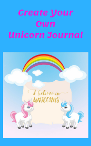 unicorn journal printable