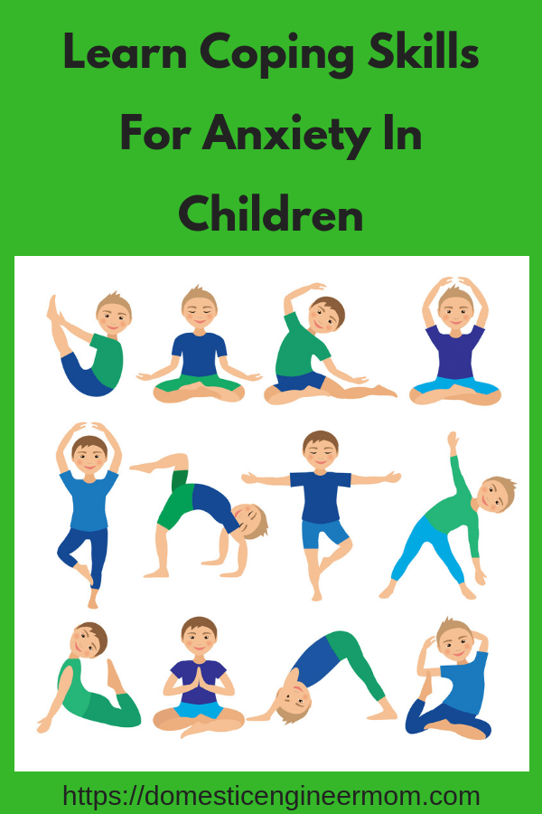 anxiety in children coping skills