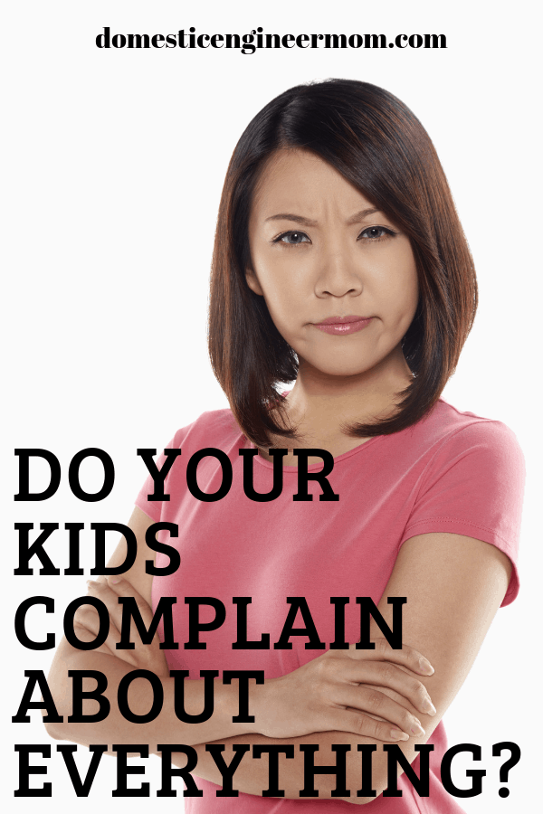 kids complaining